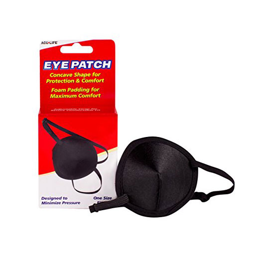 Concave-Vinyl-Eye-Patch