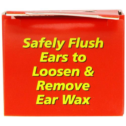 how to use ear wax removal syringe